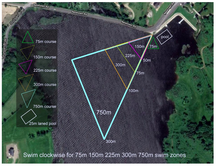 Camlough Lake 2020 courses